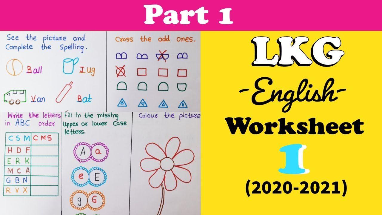 Lkg English Worksheet Kindergarten Worksheet Pp1 Syllabus 2020 2021 Kindergarten Worksheets Lkg Worksheets Worksheets [ 720 x 1280 Pixel ]