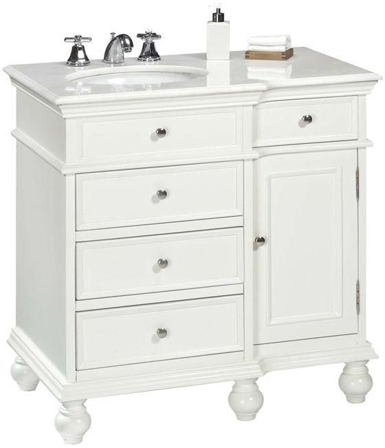 hampton bay 36 w 4 drawer sink cabinet bathroom vanities bath rh pinterest com