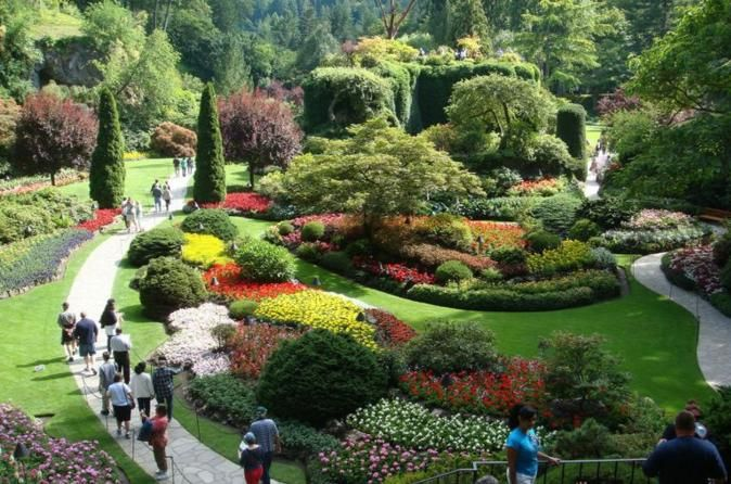 Victoria And Butchart Gardens From Vancouver