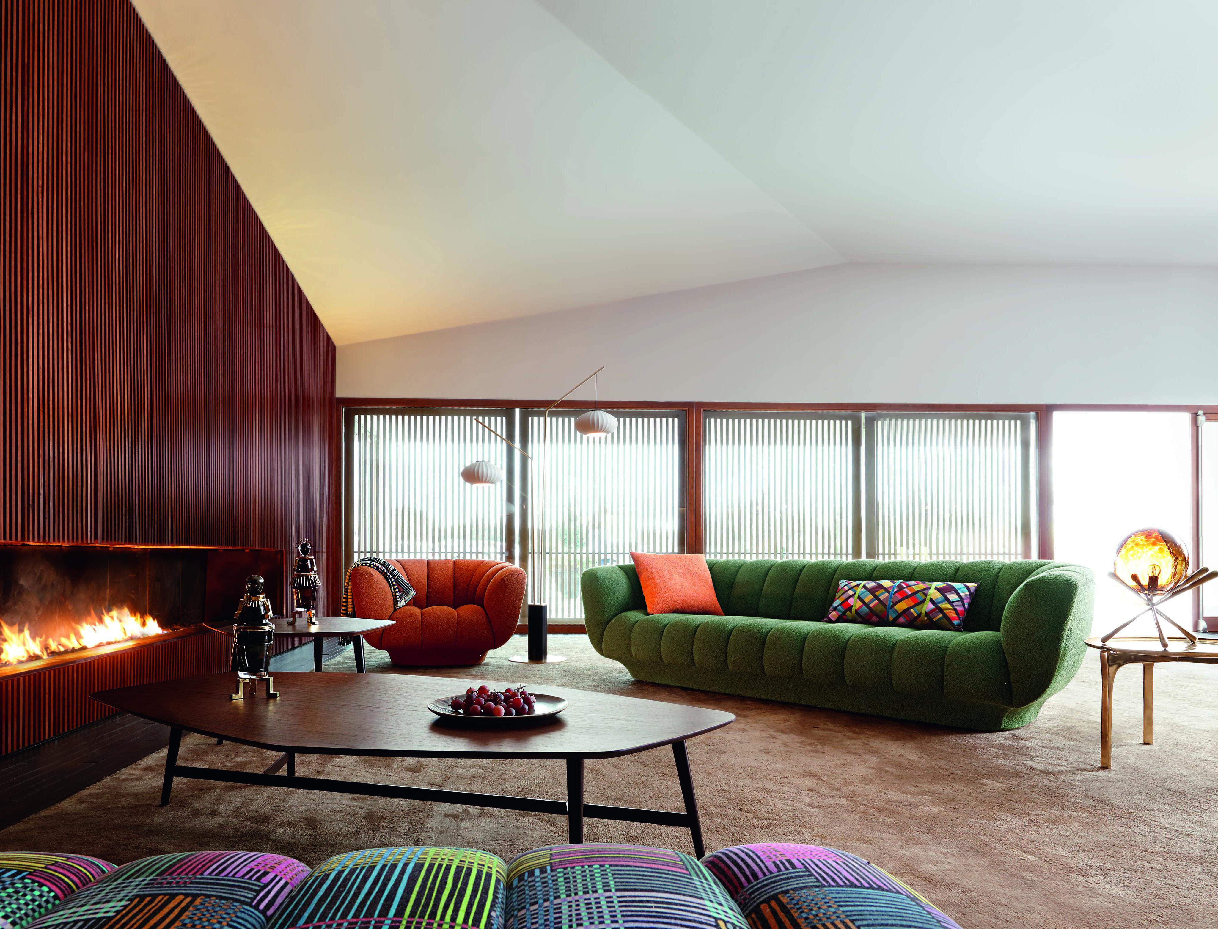 Roche Bobois L Odea Sofa And Armchair L Designed By Maurizio Manzoni En 2020 Canape Salon