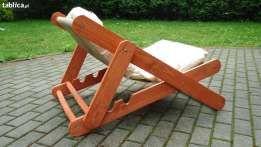 Lezak Fotel Ogrodowy Drewniane Meble Ogrodowe Lezanka Furniture Decor Home Decor