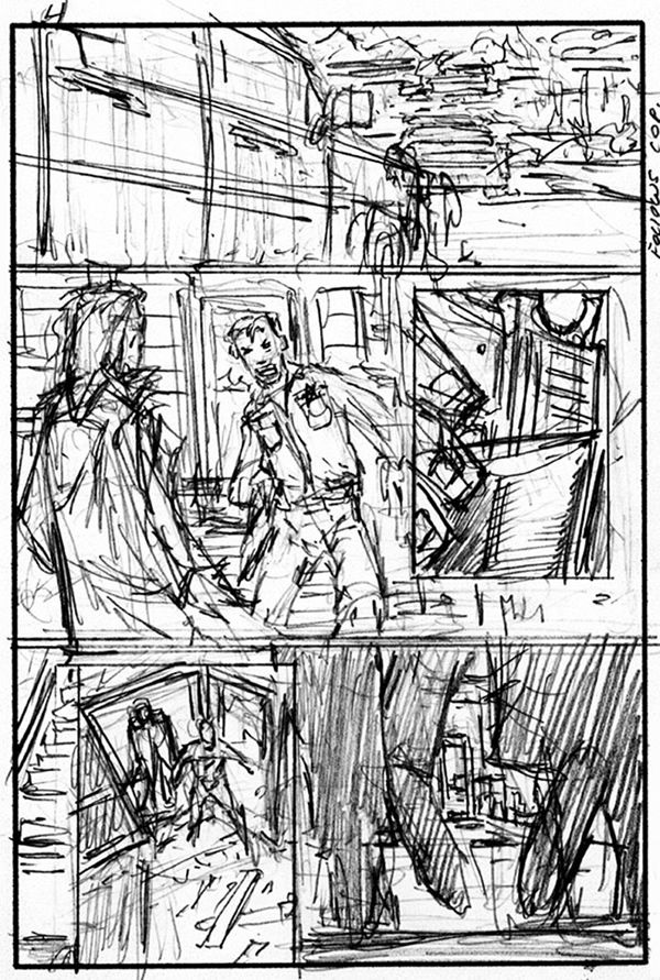 horror comic page - Google Search Comics Inspiration Pinterest - comic storyboards