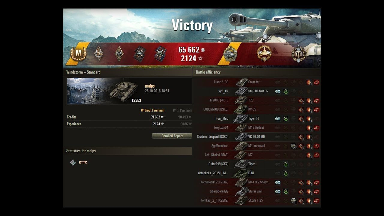 World Of Tanks T23e3 In Actie Tank