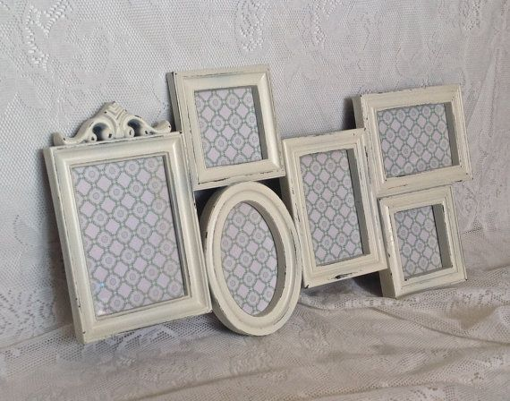 Shabby Chic Frame Collage Large White Wall by ReFeatherYourNest ...