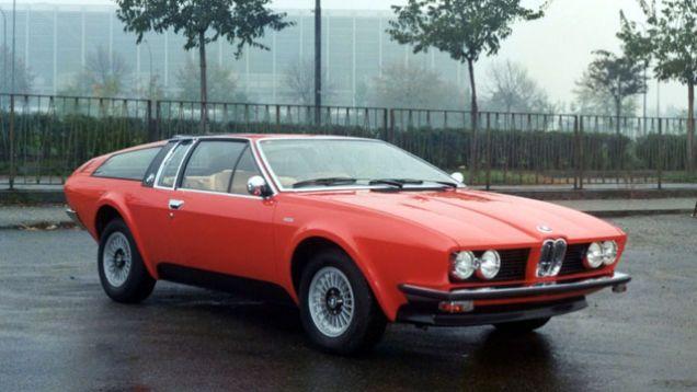 1976 Bmw 528 Gt Coupe Concept By Frua Cool Cars Autos Carritos