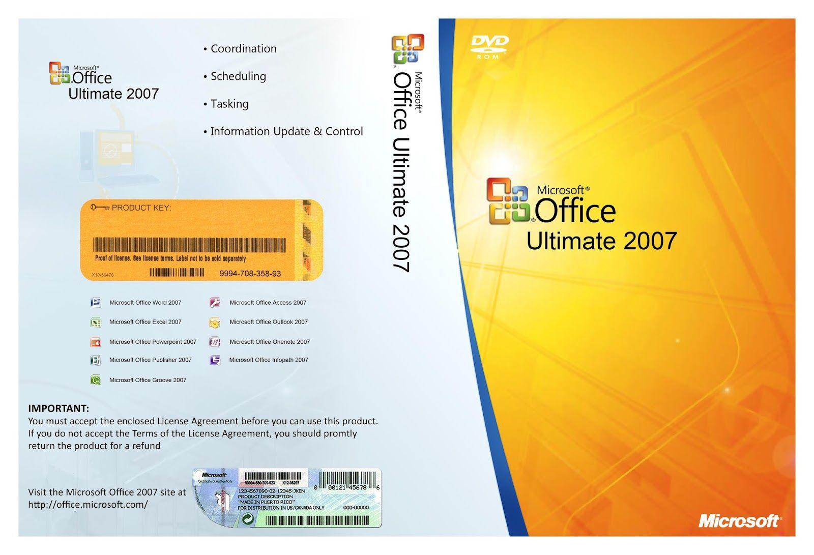 microsoft office 2007 ultimate keygen
