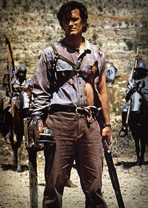 Bruce Campbell In Army Of Darkness Sci Fi Fantasy