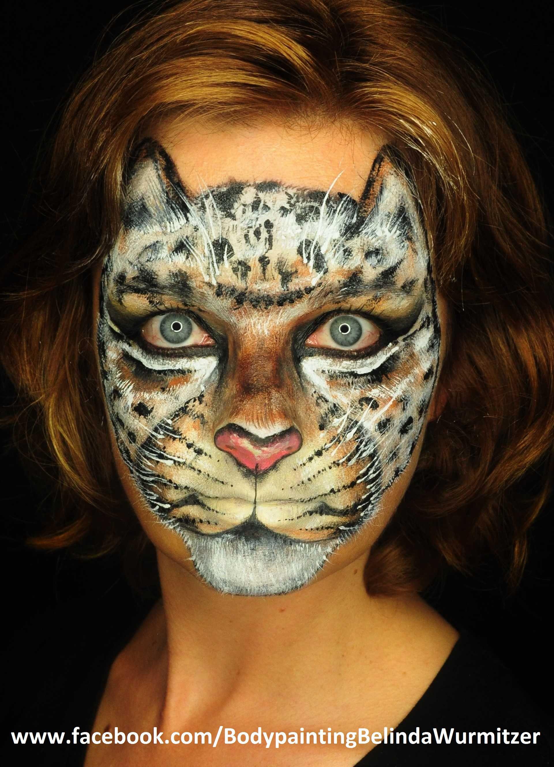 leopard artist und artist belinda wurmitzer kinderschminken facepainting pinterest. Black Bedroom Furniture Sets. Home Design Ideas