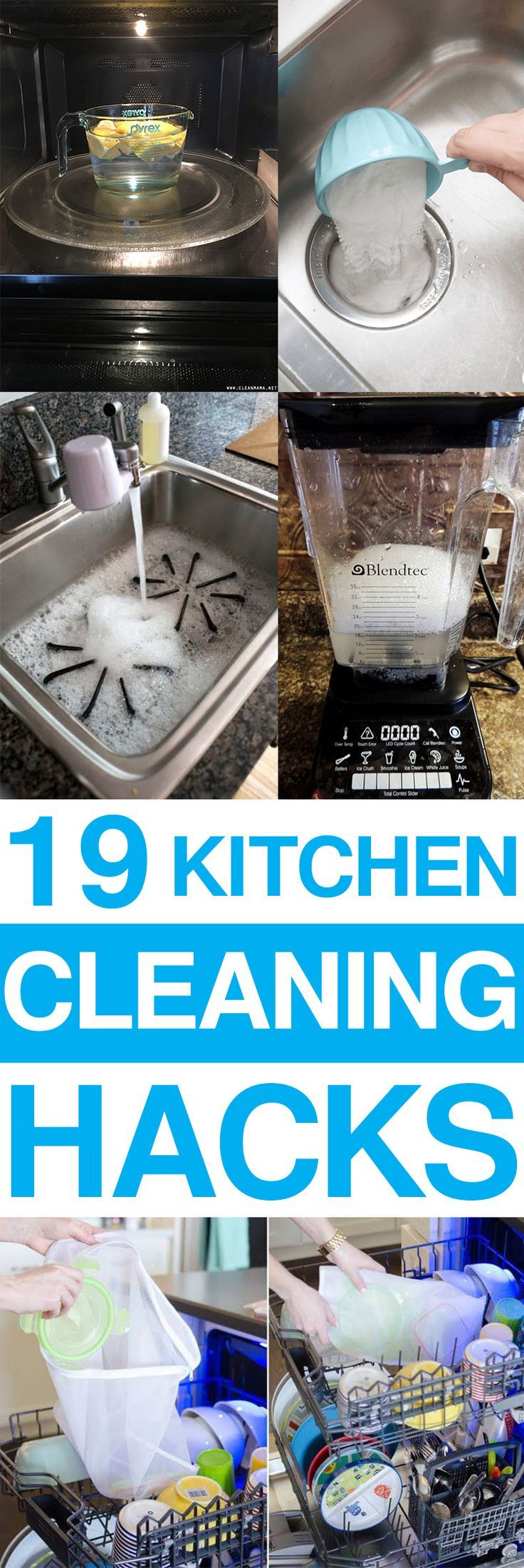 19 Genius Kitchen Cleaning Hacks That Will Make Your Kitchen ...