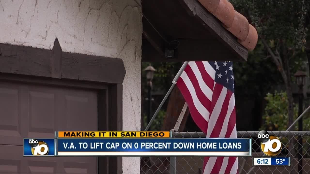 Making It In San Diego Va Loans To Have No Limits In 2020 Loan