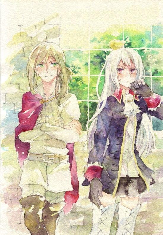 Nyotalia Hungary And Prussia Hetalia Hungary Hetalia Anime