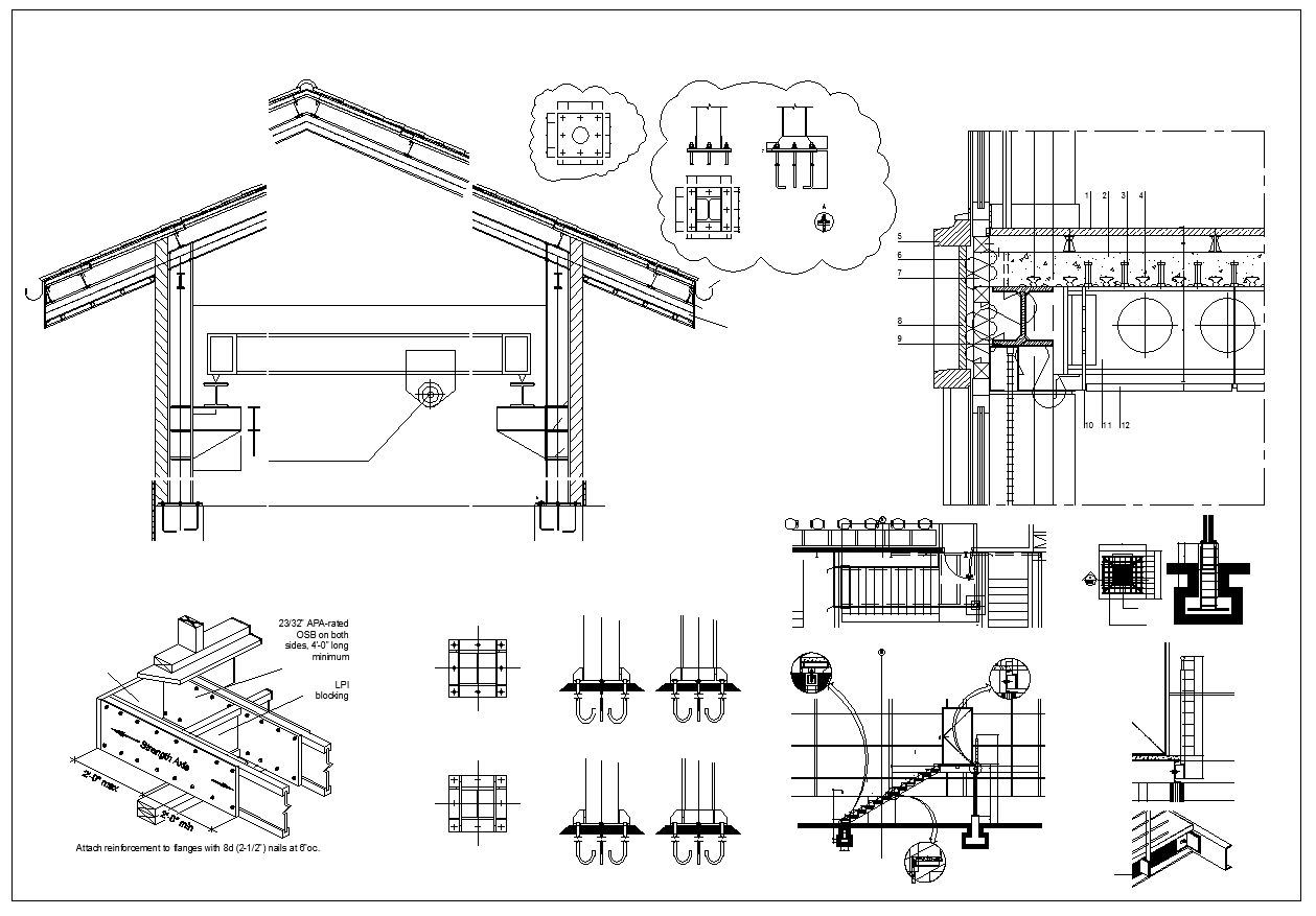 Pin On Download Steel Structure Cad Details
