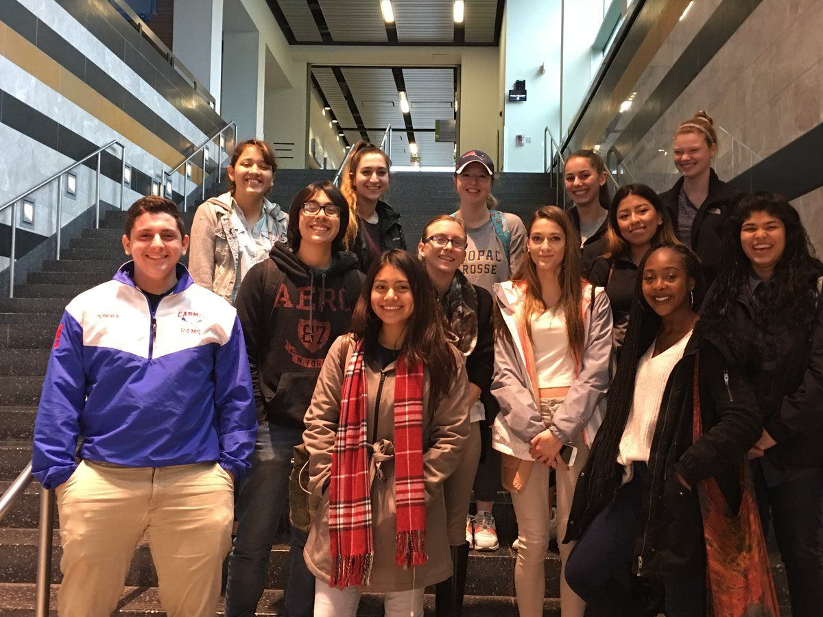 New Visions Health students watched a live heart surgery