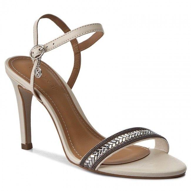 Sandaly Kazar Kayla 28743 01 03 Bezowy Women Shoes Sandals Heels Shoes