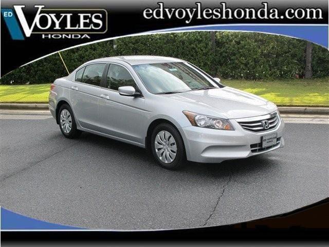 2012 Honda Accord Sedan LX In Alabaster Silver Metallic 2103 Cobb Parkway  SE, Marietta GA