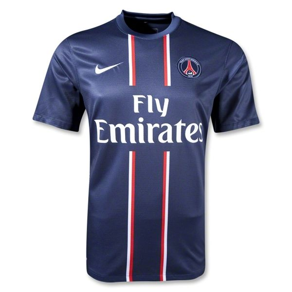4dc9d8be5c48e9 12 13 cheap Paris St German Home Replica Jersey Shirt