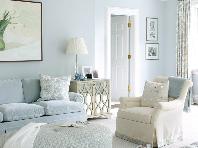 Beautiful White Living Room Idea