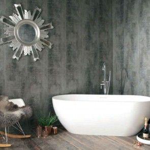 Stone 8mm Self Adhesive Bathroom Panels