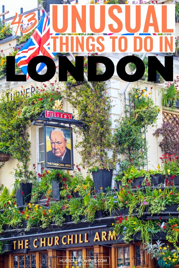 43 Quirky and unusual things to do in London that will blow your mind #summerbucketlists