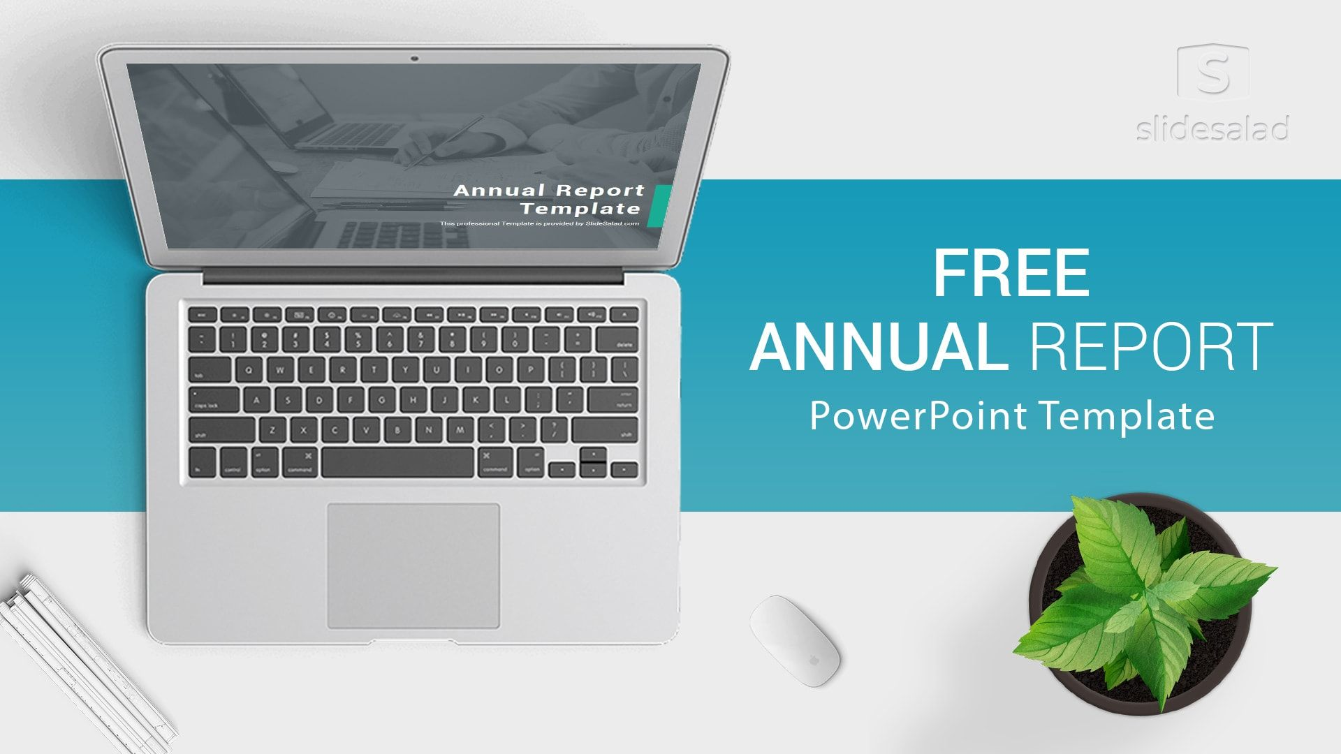 Free Download Annual Report PowerPoint Template for Presentations #annualreports