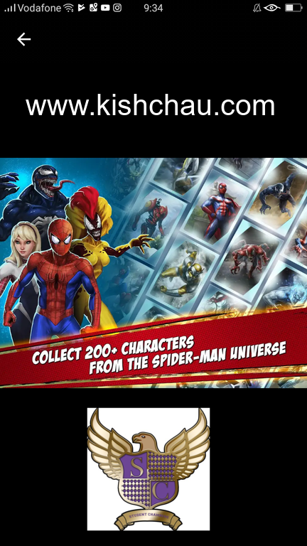 MARVEL SpiderMan Unlimited on Google play! www.kishchau
