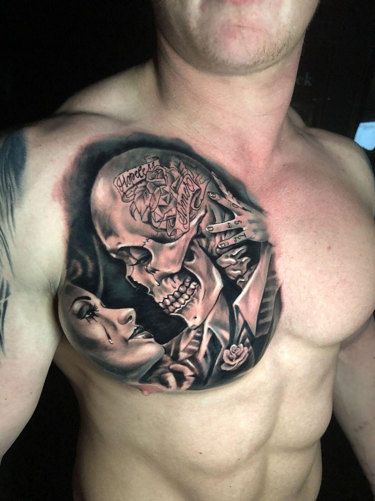 Sinner Tattoos : sinner, tattoos, Redemption, Tattoo, Studio