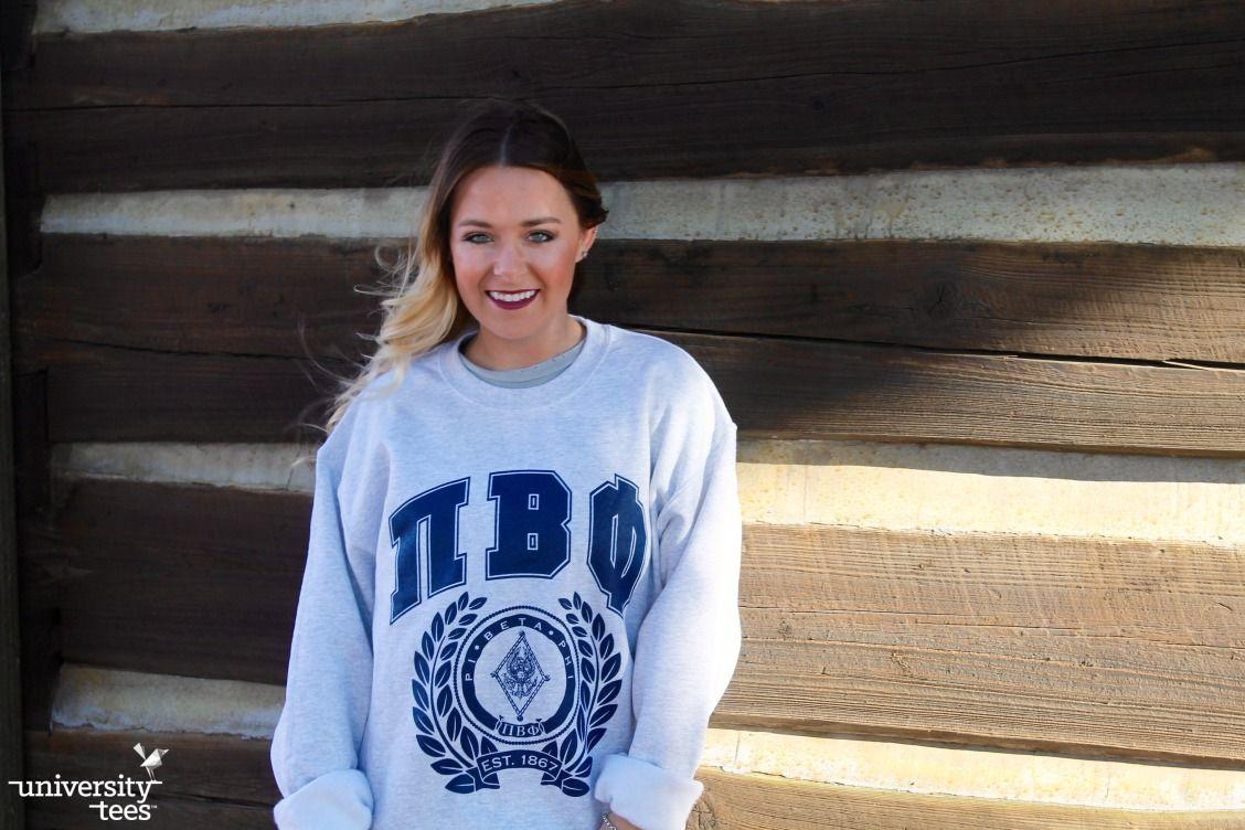oversized crests   | Pi Beta Phi | Made by University Tees | universitytees.com