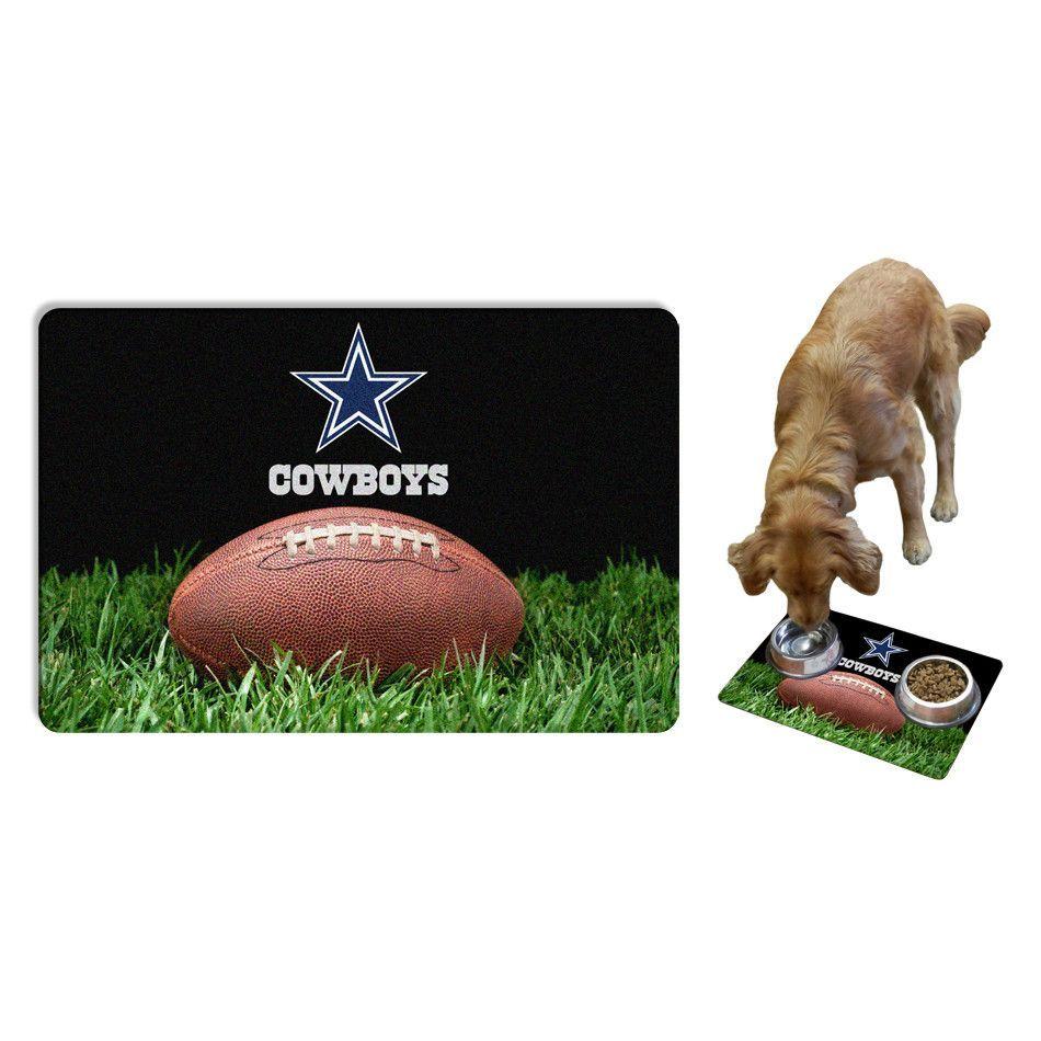 Dallas Cowboys Football Pet Mat