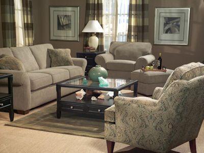 Flexsteel Living Room Sofa 7305 31 Woodchucks Fine