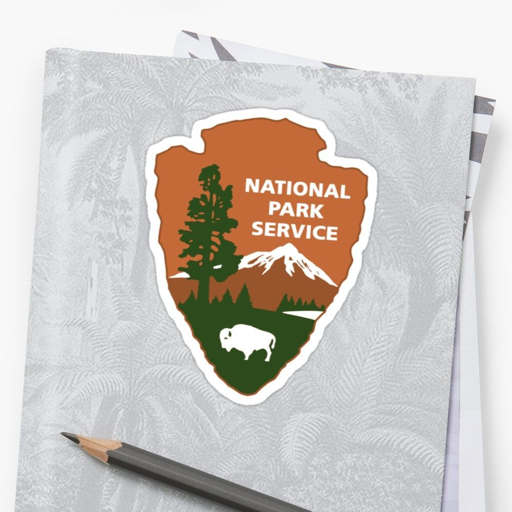 'national park service logo' Sticker by bumblethebee