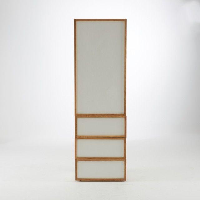 Armoire 1 porte et 3 tiroirs Compo Idées de décoration intérieure - Decoration Encadrement Porte Interieur