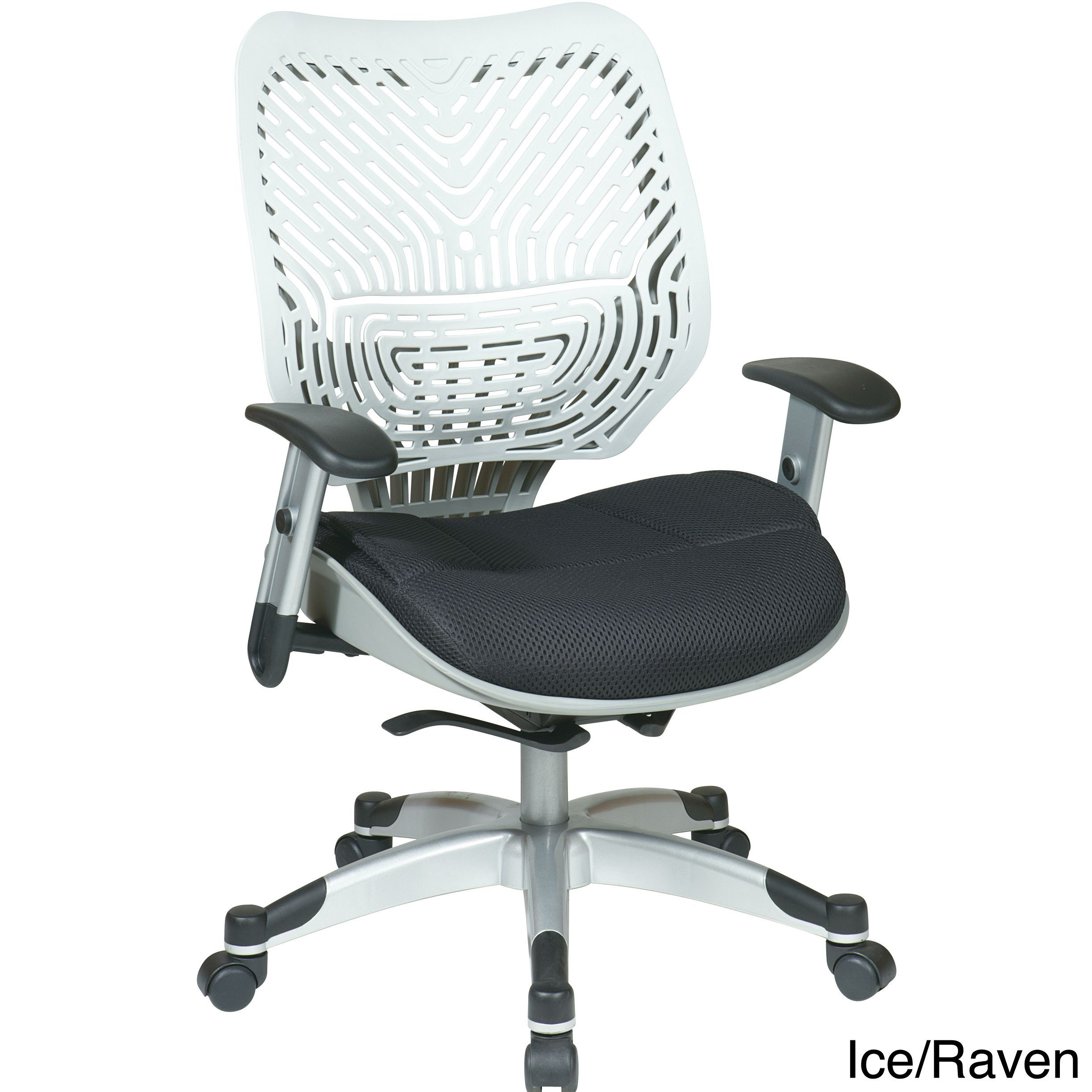 office star revv series self adjusting spaceflex back chair with