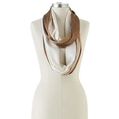 Apt. 9 Crinkled Ombre Infinity Scarf