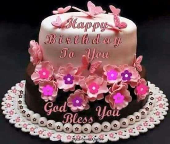 Fine Happy Birthday With Images Happy Birthday Flower Cake Happy Personalised Birthday Cards Arneslily Jamesorg