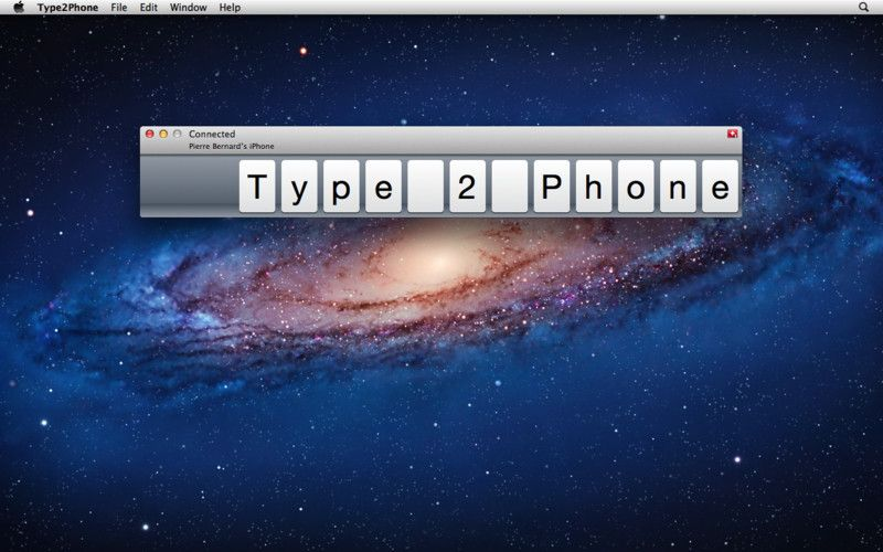 Type2Phone Mac app Type2Phone lets you use your Mac as Bluetooth - free spreadsheet software for macbook pro