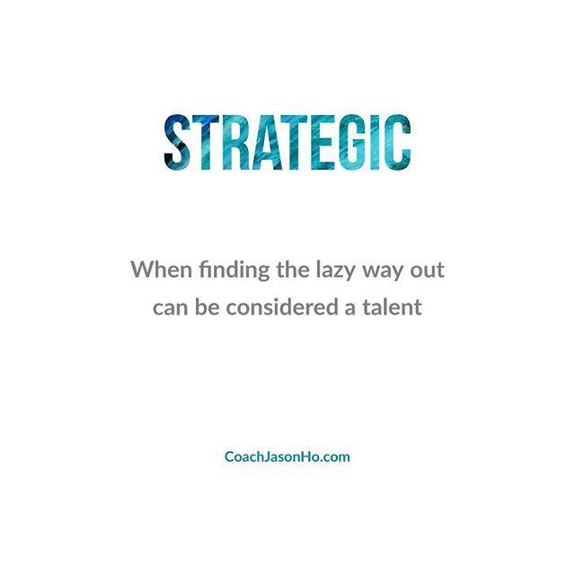 [#CliftonStrengths] #StrengthsFinder #strategic