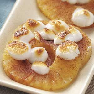 Broiled Pineapple- Plum Crazy About Coupons  http://plumcrazyaboutcoupons.com/2012/10/08/broiled-pineapple/