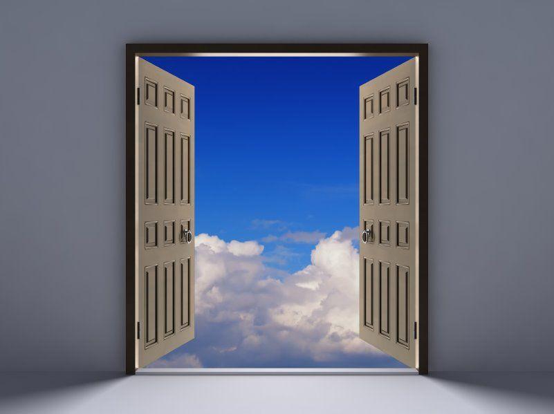 Open Door | open-door-blue-sky[1] & An open door for excuses? | Pinterest | Opportunity and Student ...