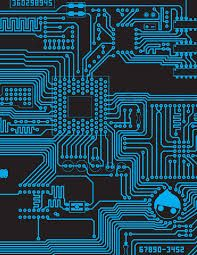 Image result for blue circuit wallpaper | B\'grounds and W\'papers ...