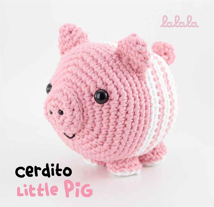 El Club del Patrón: Cerdito de amigurumi | Easy | Pinterest | Cerdo ...