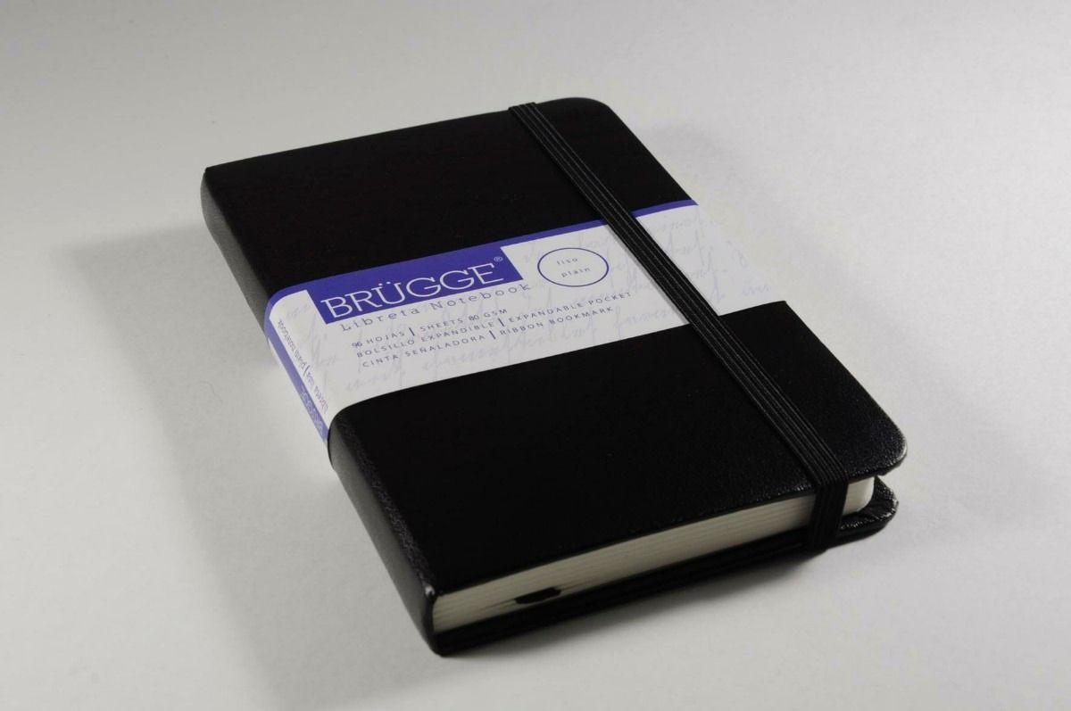 Libreta Brügge Explora (tipo Moleskine) Tamaño Pocket 9x14
