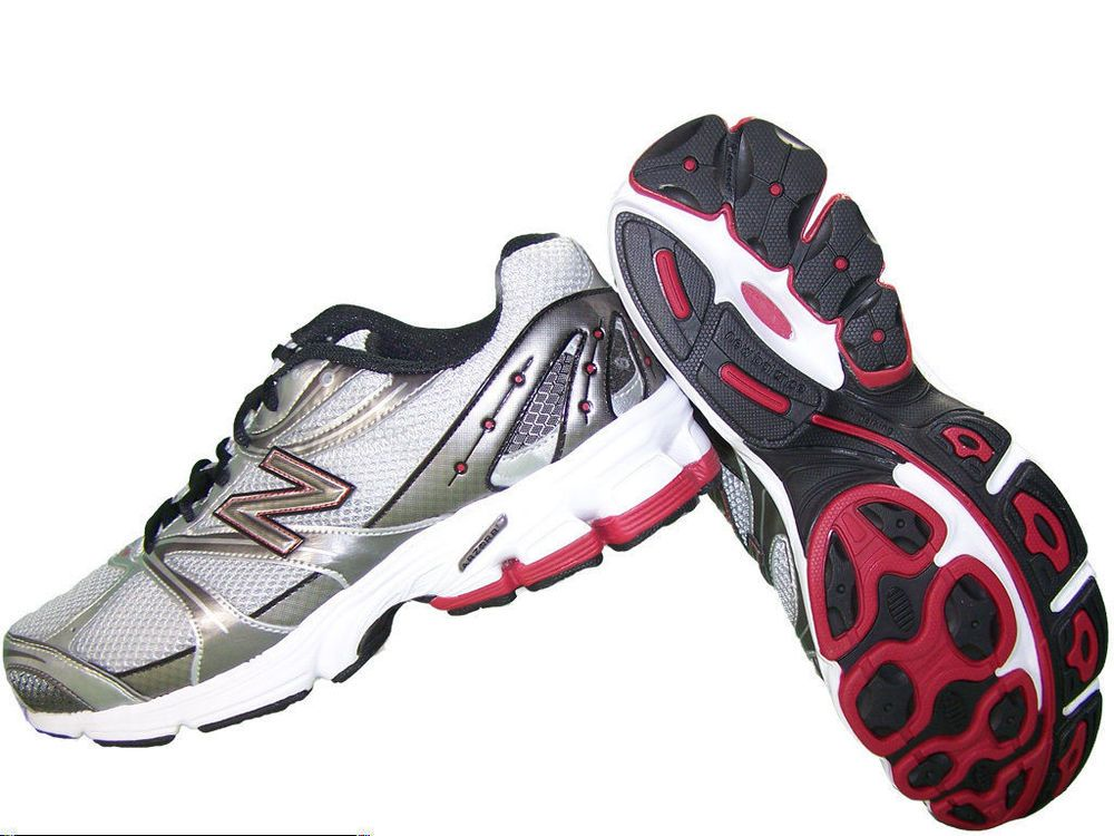 98ded54c3de New Balance 580 Mens shoes SBR Running silver red black laces size 10 NEW  42.99 http