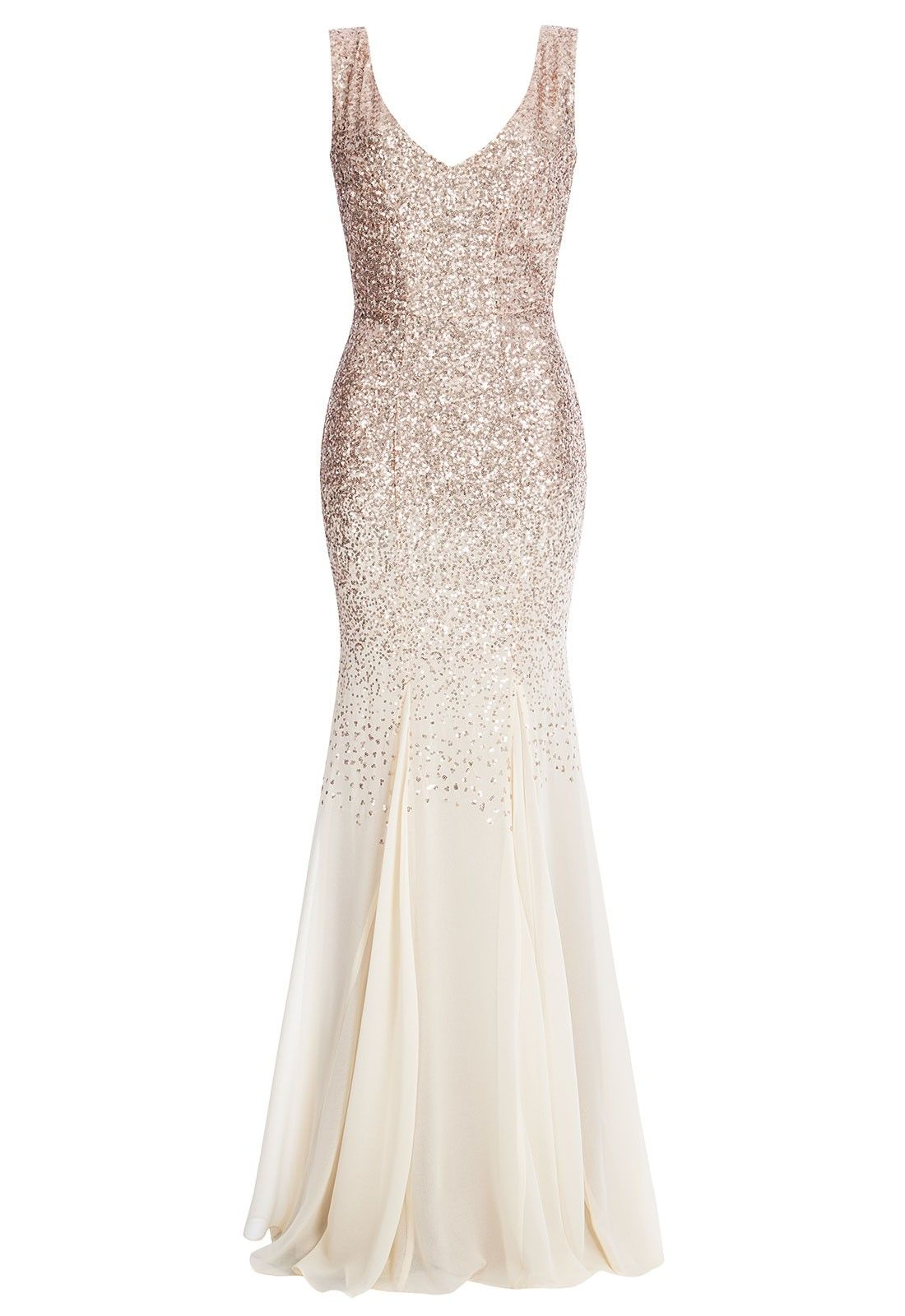 3d5df731 Ooze A-List glamour at your ball, prom or evening event in this stunning  sequin and chiffon maxi dress from Goddiva! This dress was designed to make  a ...