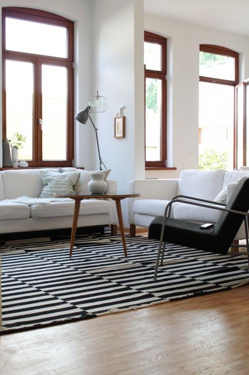Schön Hell, Tags Sofa + Altbau + Schwarz + Ikea + Wohnzimmer + Weiß +