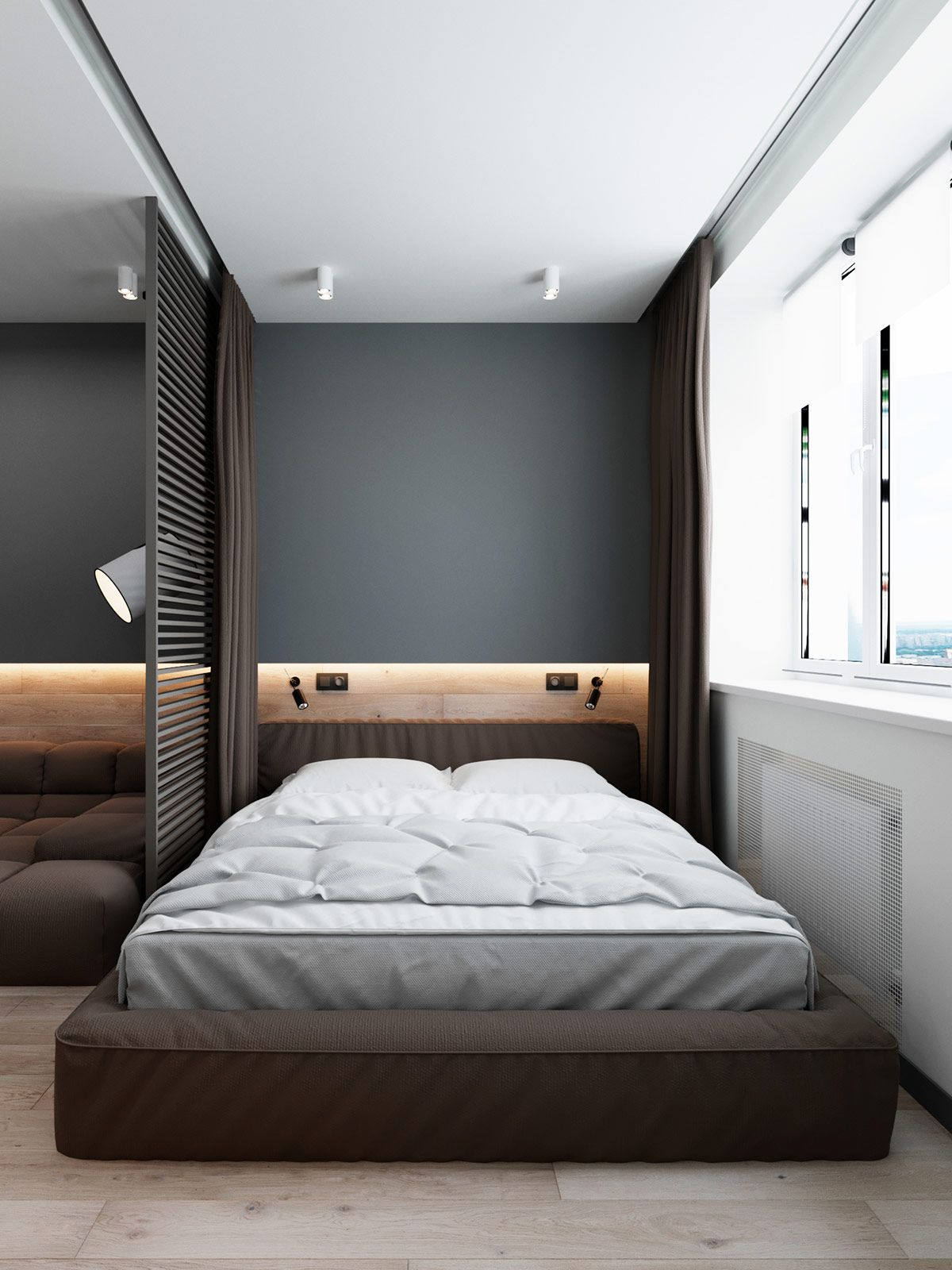 3 Luxury Apartments With Open Plan Bedroom Ideas Bedroom Interior Luxurious Bedrooms Apartment Interior