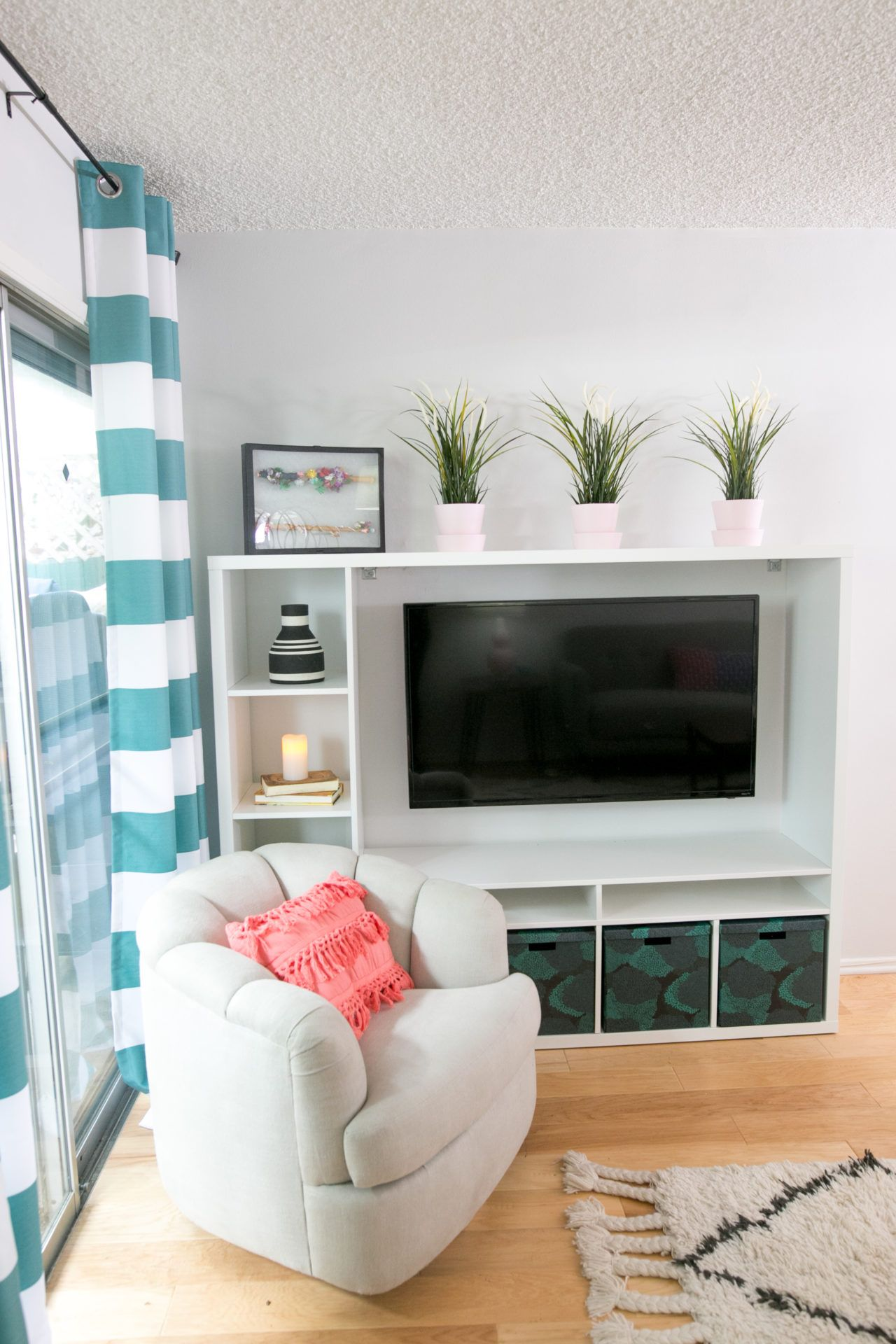 Roommates Apartment Makeover | Green colour palette, Corner and ...