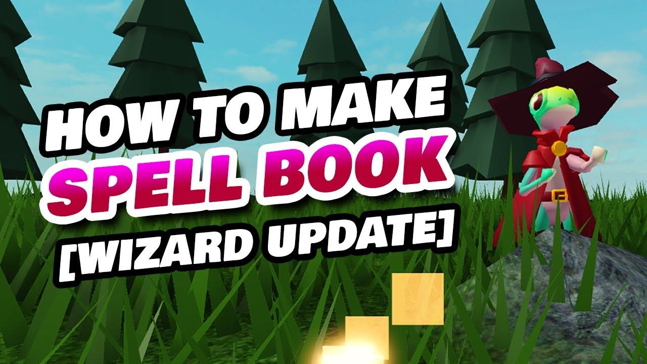 Roblox Islands How To Get Spell Book In Roblox Islands Wizard Update In 2020 Spell Book Roblox Spelling