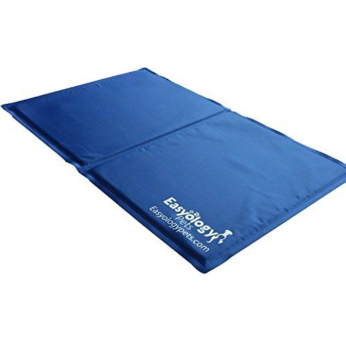 Easyology Premium Pet Cold Gel Pad Perfect Size For Couch Keeps