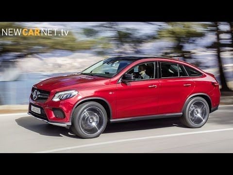 #Mercedes reveals #new #GLE #Coupe #SUV