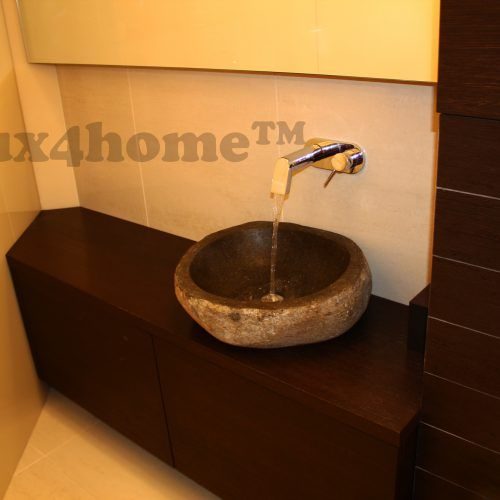 Natural Stone Sinks LAVABO CUT. Rock washbasins Lux4home™